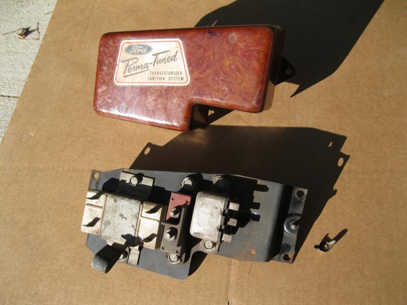 Rare 427 ignition relay assembly